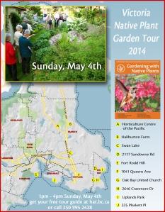 Poster for Garden Tour 2014