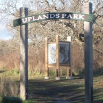 Uplands PArk Kiosk and entry sign IMG_3751